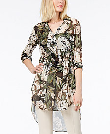 I.N.C. Petite High-Low Tunic, Created for Macy's