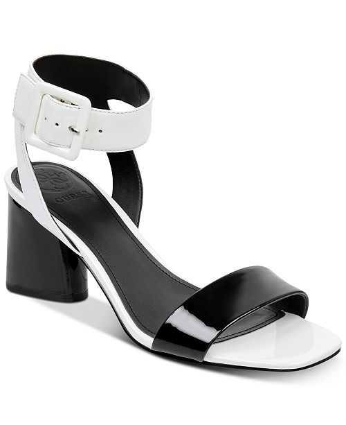 8bae6a9a03936f GUESS Women s Saloni Metallic City Dress Sandals   Reviews ...