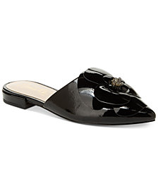 Nanette by Nanette Lepore Alexandra Floral Mules, Created for Macy's