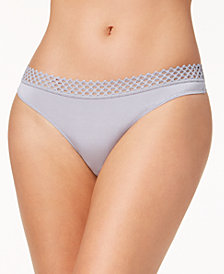 b.tempt'd Tied in Dots Lace-Waist Thong 976238