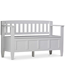 Winslow Storage Bench, Quick Ship