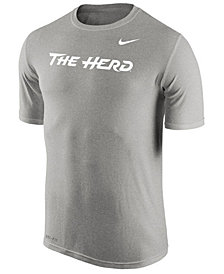 Nike Men's Marshall Thundering Herd Dri-Fit Legend Wordmark T-Shirt