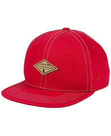 Top of the World Indiana Hoosiers Diamonds Snapback Cap
