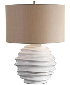 Uttermost Gisasa Crackled Table Lamp