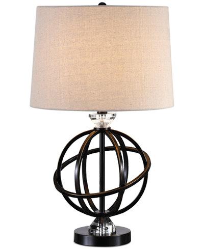 Uttermost Armilla Metal Orb Table Lamp