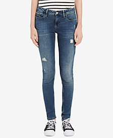 Calvin Klein Jeans Destructed Ultimate Skinny Fit Jeans