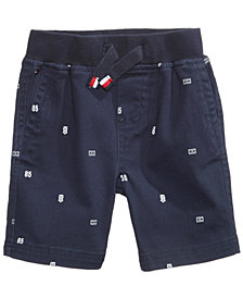 Tommy Hilfiger Schiffli Pull-On Shorts, Baby Boys