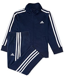 Baby Boys 12-24 M 2-Pc. Three-Stripe Track Suit