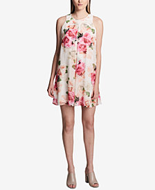 Calvin Klein Floral-Print Shift Dress