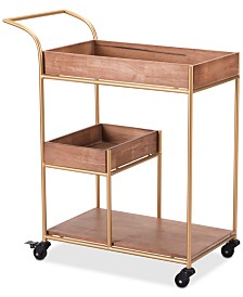 Salana Bar Cart, Quick Ship