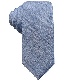 Ryan Seacrest Distinction™ Men's Seasonal Solid Slim Tie, Created for Macy's