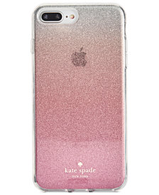 kate spade new york Pink Glitter Ombré iPhone 8 Plus Case