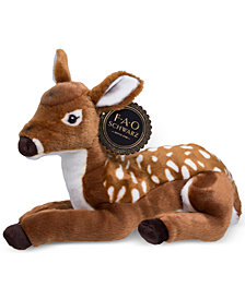 FAO Schwarz Toy Plush Fawn