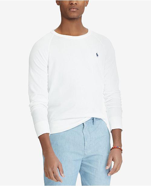 21df474ea Polo Ralph Lauren Men s Spa Terry Sweatshirt   Reviews - Hoodies ...