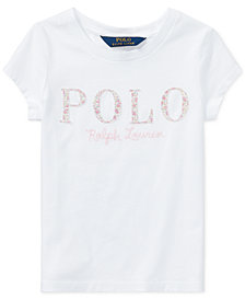 Ralph Lauren Cotton Jersey T-Shirt, Little Girls
