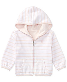 Ralph Lauren Reversible Cotton Hoodie, Baby Girls