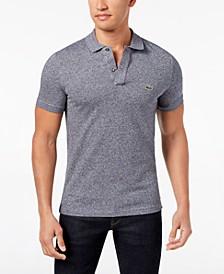Men's Slim Fit Petit Pique Polo Shirt