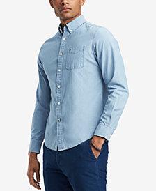 Slim Fit Long Sleeve Mens Casual Button Down Shirts   Sports Shirts ... c62810cf6b96