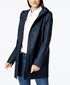 Nautica Hooded Raincoat