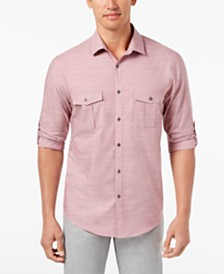 Alfani Men's Warren Long Sleeve Shirt, Created for Macy's