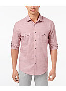 Alfani Men's Warren Long Sleeve Shirt