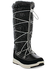 Khombu Women's Slalom V Lace-Up Cold-Weather Boots