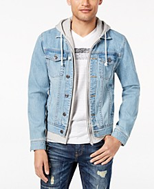 Men's Layered-Look Trucker Jacket, Created for Macy's
