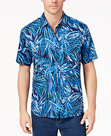 Tommy Bahama Men's Throwing Shade Palm-Print Shirt