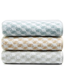 CLOSEOUT! Turkish Cotton Fashion Cube Bath Towel Collection, Created for Macy's