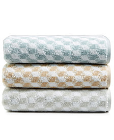 Hotel Collection Turkish Cotton Fashion Cube Bath Towel Collection, Created for Macy's