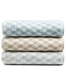 CLOSEOUT! Hotel Collection Turkish Cotton Fashion Cube Bath Towel Collection, Created for Macy's