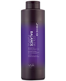 Joico Color Balance Purple Shampoo, 33.8-oz., from PUREBEAUTY Salon & Spa