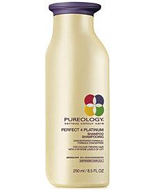 Pureology Perfect 4 Platinum Shampoo, 8.5-oz., from PUREBEAUTY Salon & Spa