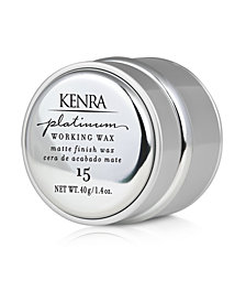 Kenra Professional Platinum Working Wax 15, 1.4-oz., from PUREBEAUTY Salon & Spa
