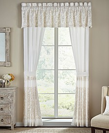 "Cela Tailored 72"" x 20"" Window Valance"