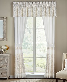 "Croscill Cela Tailored 72"" x 20"" Window Valance"