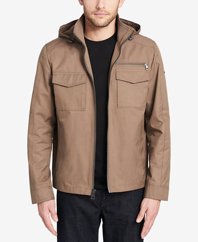 Calvin Klein Men's Hooded Barn Jacket