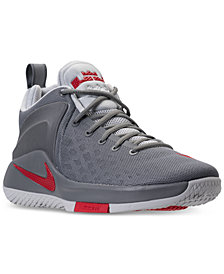 Nike Men's LeBron Zoom Witness Basketball Sneakers from Finish Line