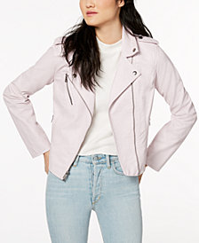 Levi's® Faux-Leather Moto Jacket