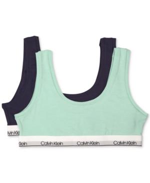 Calvin Klein 2-Pack Bralettes,...