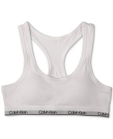 Calvin Klein Molded Logo Bra, Little Girls & Big Girls