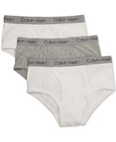 a52953b5a5 Calvin Klein 3-Pk. Cotton Briefs, Little Boys & Big Boys