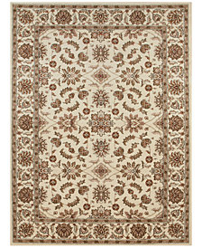 "CLOSEOUT! KM Home Pesaro Meshed Ivory 2'2"" x 7'7"" Runner Area Rug"