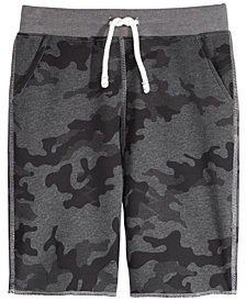 Univibe Davies Graphic-Print Shorts, Big Boys