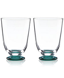 kate spade new york Charles Lane Stemless Wine Glasses, Set of 2
