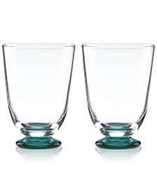 CLOSEOUT! kate spade new york Charles Lane Stemless Wine Glasses, Set of 2