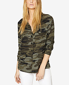 Sanctuary Peace Keeper Camo-Print Jacket