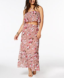American Rag Juniors' Tube Top & Maxi Skirt, Created for Macy's