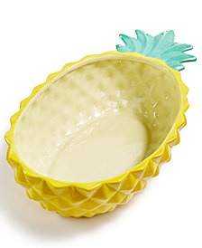 Martha Stewart Collection Pineapple Bowl, Created for Macy's