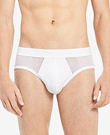 Calvin Klein Men's Mesh Hip Briefs